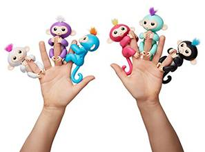 Fingerlings Monkey действие